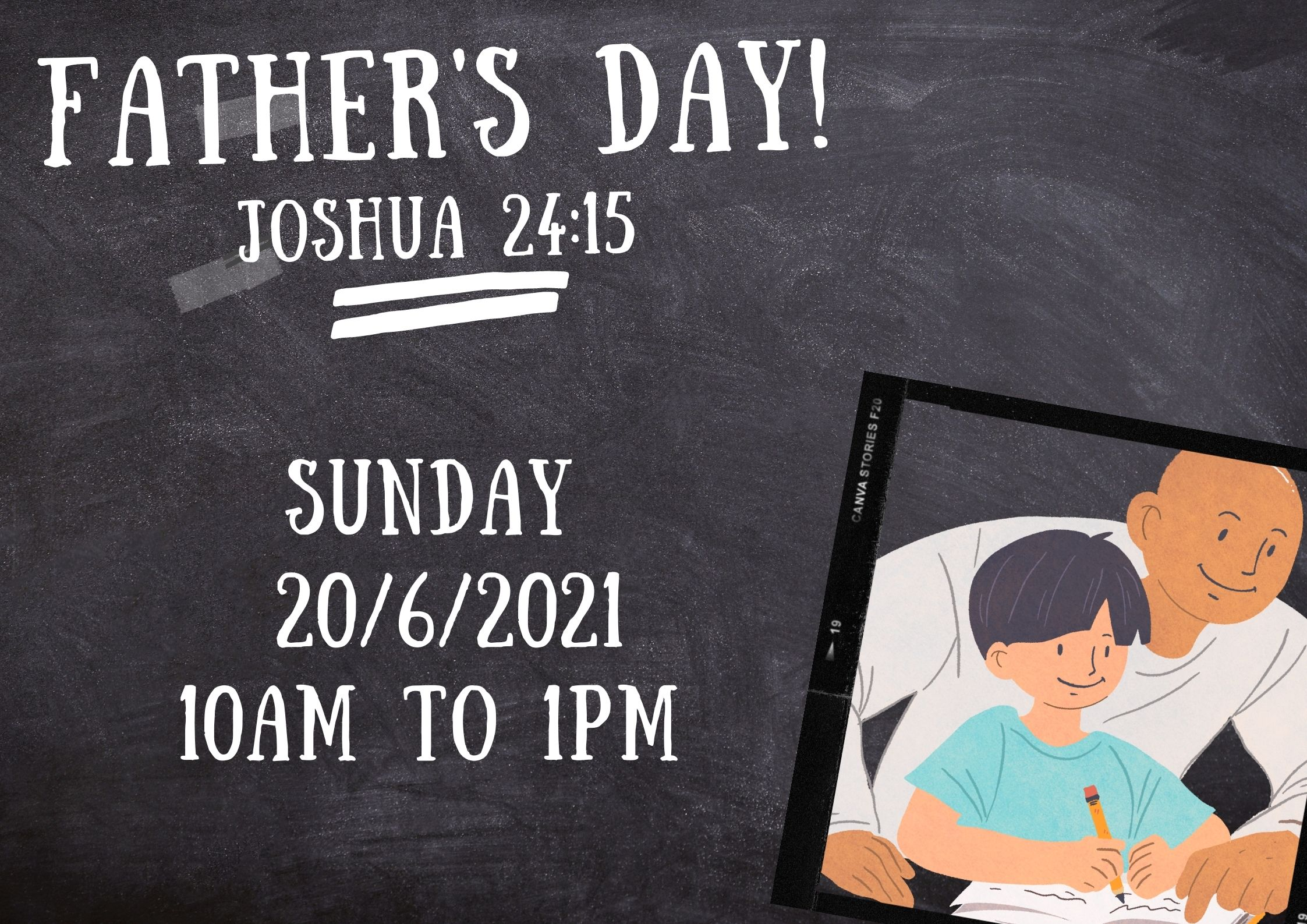 Father's Day Celebration 20th June 2021